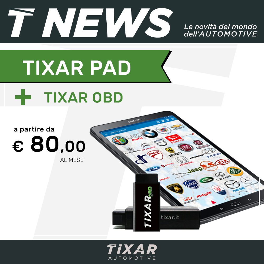TIXAR PAD + TIXAR OBD